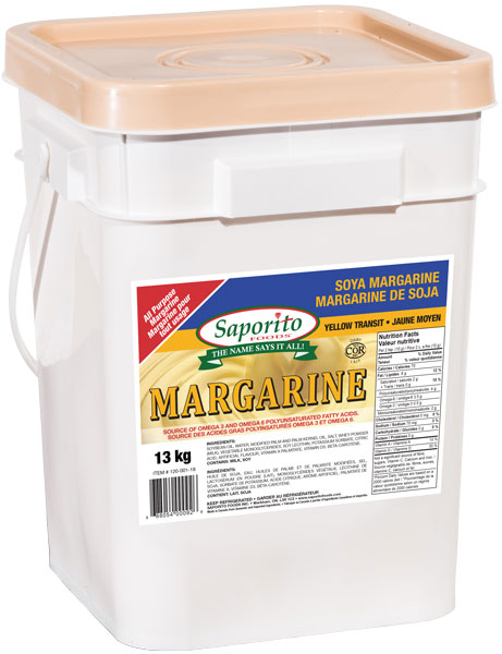 Saporito Margarine (Butter Color) 13kg