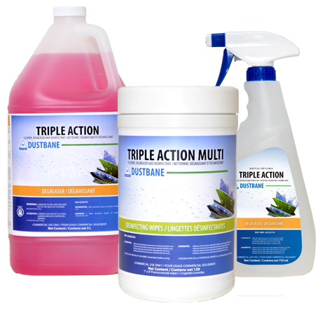 Triple Action 750ml RTU Degreaser/Disinfectant
