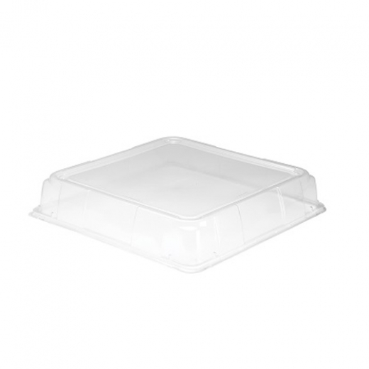 "Caterline Catering Tray Square  Lid 10.7"" 25/Case"