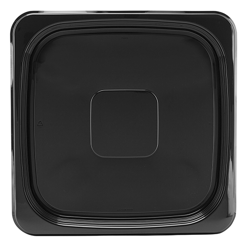 "Caterline Catering Tray Square  10.7"" Black 25/Case"