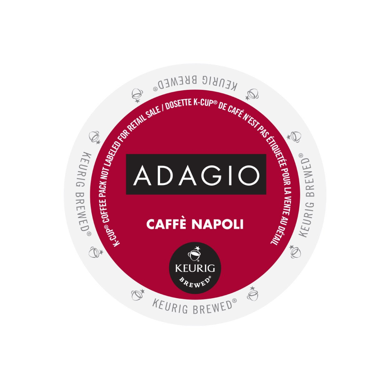 Adagio Cafe Napoli Dark Roast K Cup 24/Box