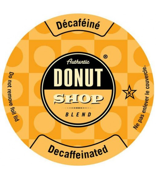Authentic Donut Shop Decaffeinated 24/Box