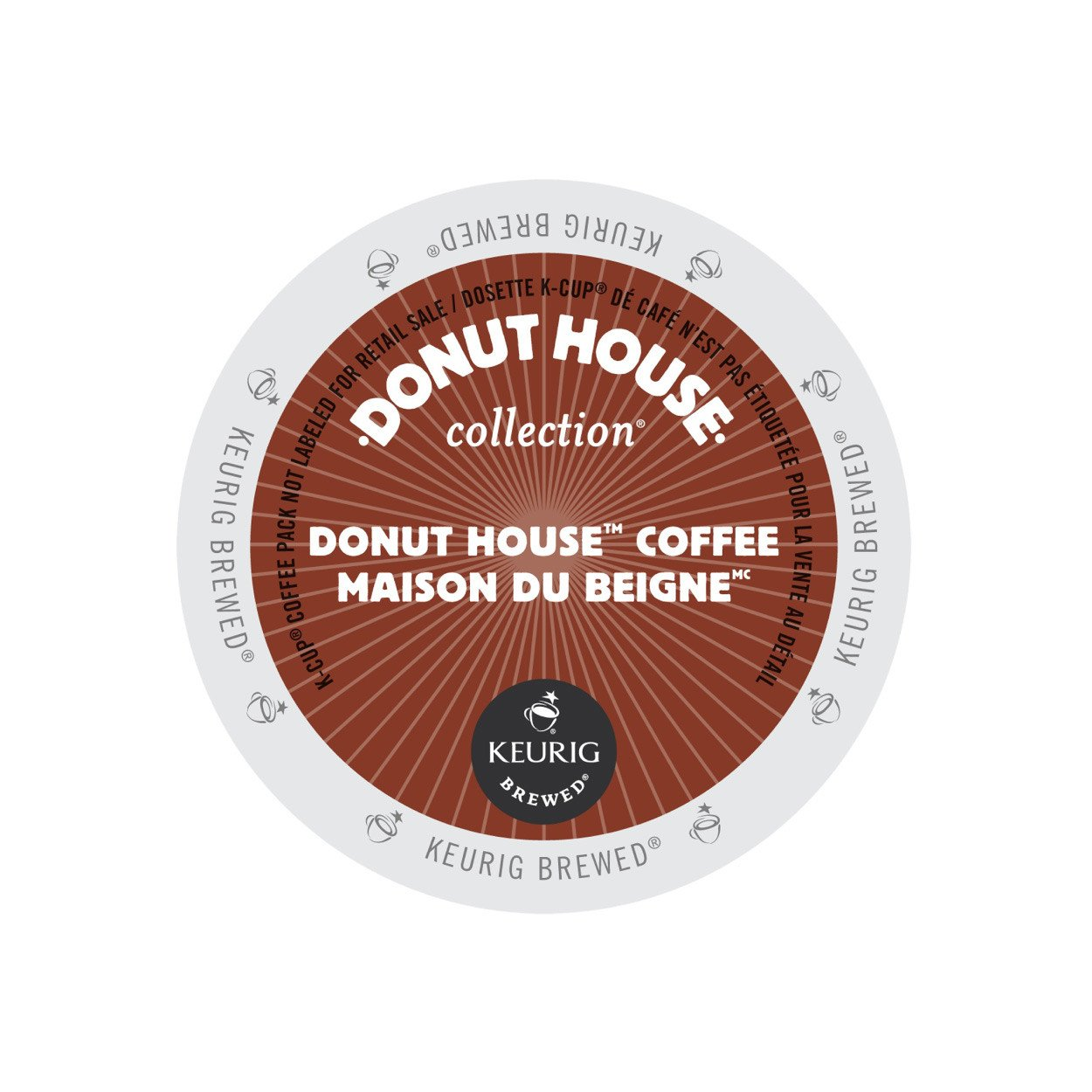 Donut House Coffee Light Roast KCup 24/Box