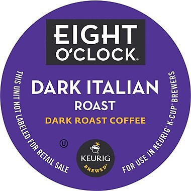 Eight O'Clock Dark Italian K-Cup 24/Box