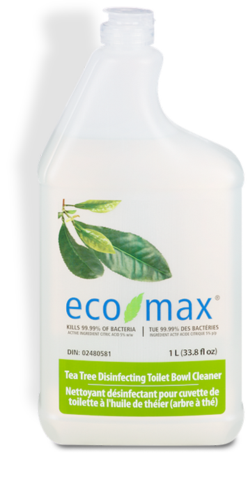 Eco Max Natural Tea Tree  Toilet Bowl Cleaner 1L