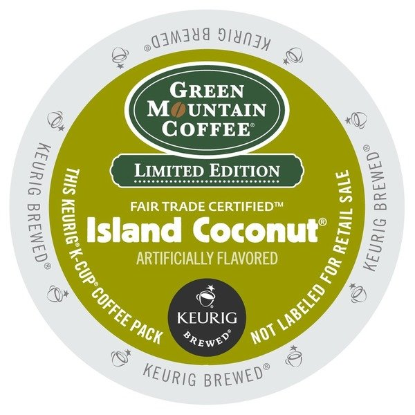 Green Mountain Island Coconut K Cup 24/Box