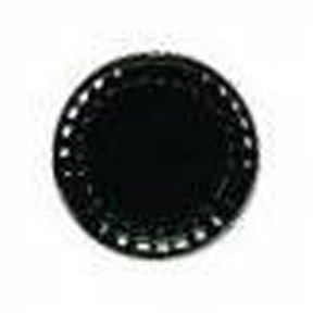 "Catering Tray Round 18"" Flat Black Base"