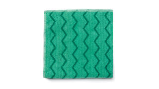"Wiper Microfiber 16""x16"" General Purpose (Green) 12/Box"