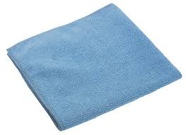 Microtuff Blue Durable Microfiber Cloth 14 x 14