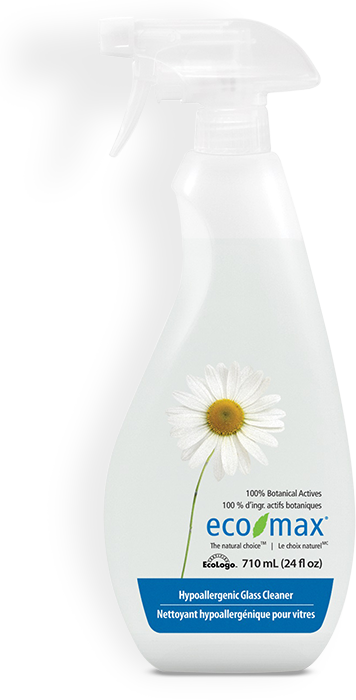 Eco Max Hypoallergenic Glass  Cleaner 710ml