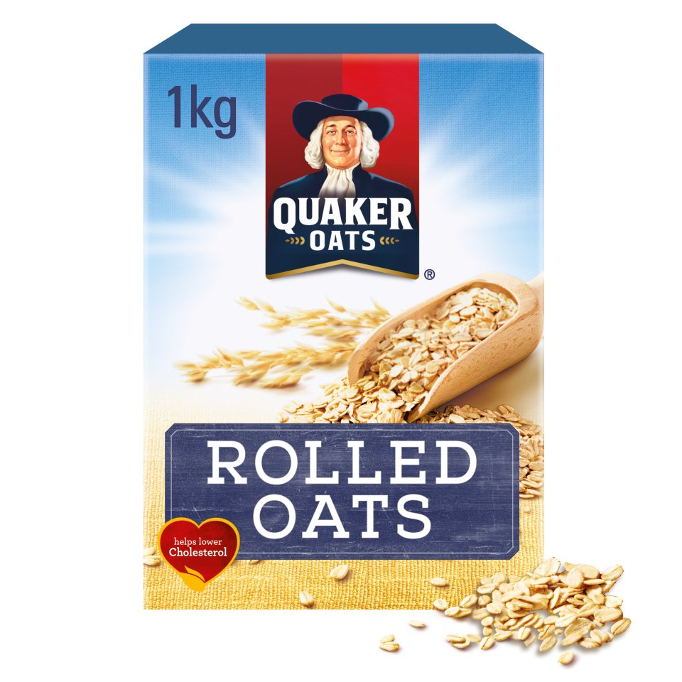 Quaker Cooking Rolled Oats 12x1Kg