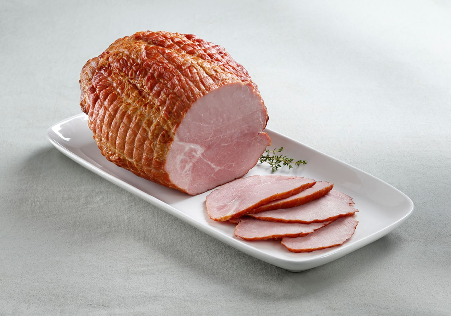 Olymel Cadet Boneless Ham Ready to Serve 2x5.2kg