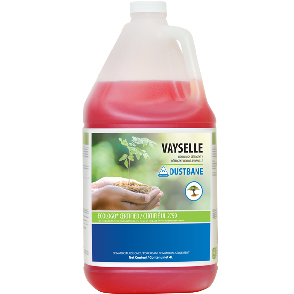 Vayselle Ecologo Certified 4L Hand Dish Wash Liquid