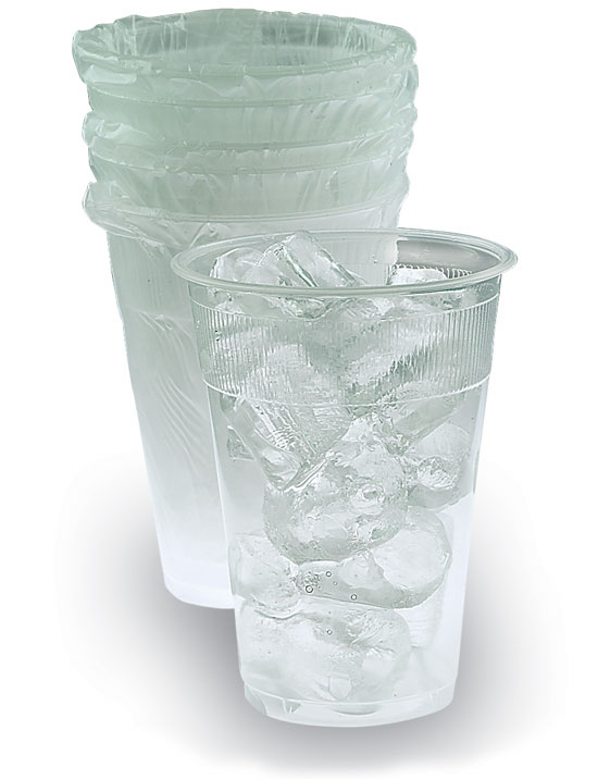 Cup Wrapped Plastic 9oz 1000/Case